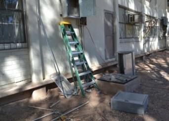 inician los trabajos en secundaria federal electrificacion karina garcia (2)