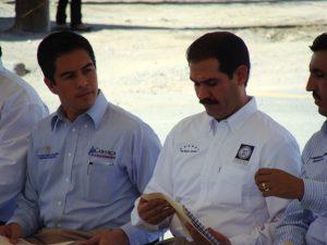 Darío Murillo y Guillermo Padrés