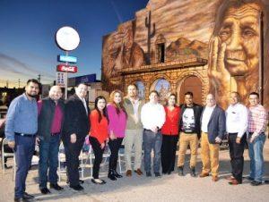 Karinagarciaqb inaugura alcaldesa karina garc a gran for El mural pelicula